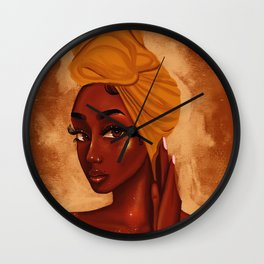U R my african queen Wall Clock
