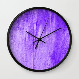 Plastered Wall Clock