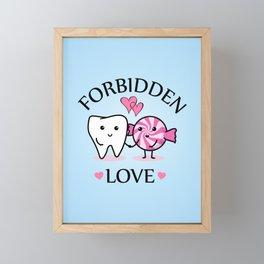 Forbidden Love Framed Mini Art Print