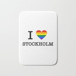 I PRIDE STOCKHoLM Bath Mat