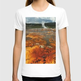 Awesome Geyser Colors T-shirt