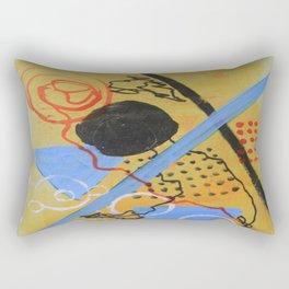 Just above the Line Rectangular Pillow