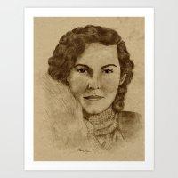 1930's Woman Art Print