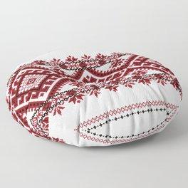 Traditional romanian motif Floor Pillow