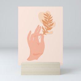 Abstraction_NAMASTE_LOVE_Minimalism_001 Mini Art Print