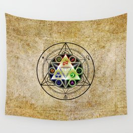 zelda triforce Wall Tapestry