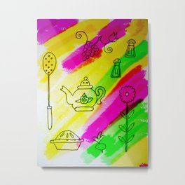 Kitchenware Metal Print