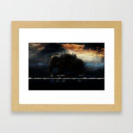 Zou Island Framed Art Print