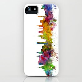 Glasgow Scotland Skyline Cityscape iPhone Case