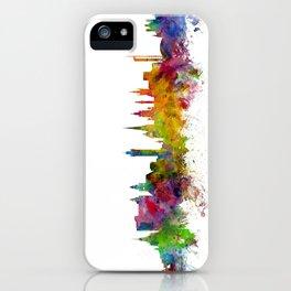 Glasgow Scotland Skyline Cityscape iPhone Case
