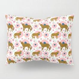 Cheetahs in Flowers Pillow Sham