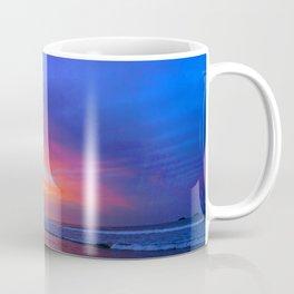 Colorful Sunset Ocean Tropical Beach Coffee Mug