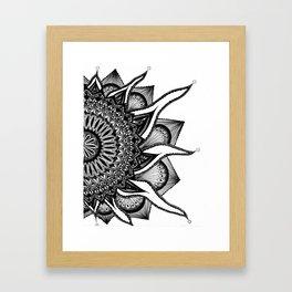 Sol Bloom Framed Art Print
