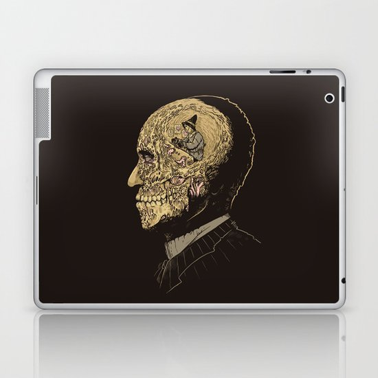 Why zombies want brains Laptop & iPad Skin