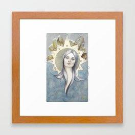 godess of tim Framed Art Print