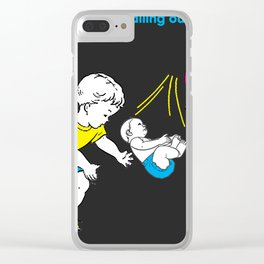 Catching Babies Clear iPhone Case