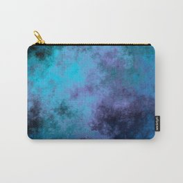 Blue and Purple clouds Carry-All Pouch