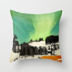 Dont Forget Northern Lights Throw Pillow