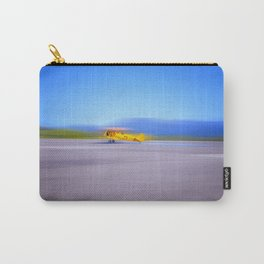 Just a Blur a classic two seater airplane Carry-All Pouch
