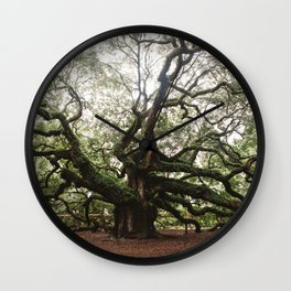 The Angel Oak Wall Clock