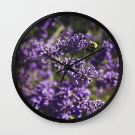 Buzz Buzz Wall Clock