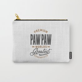 Gift for PawPaw Carry-All Pouch