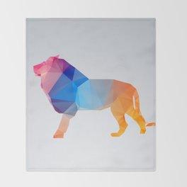 Glass Animal Series - Lion Throw Blanket