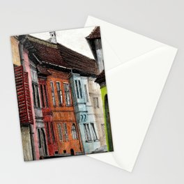 Old Town Street Stationery Cards
