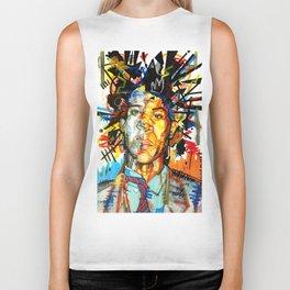 Basquiat Biker Tank