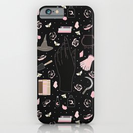 Cherry Blossom - Floral Witch Starter Kit iPhone Case