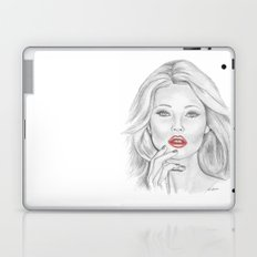 Kate Moss Laptop & iPad Skin