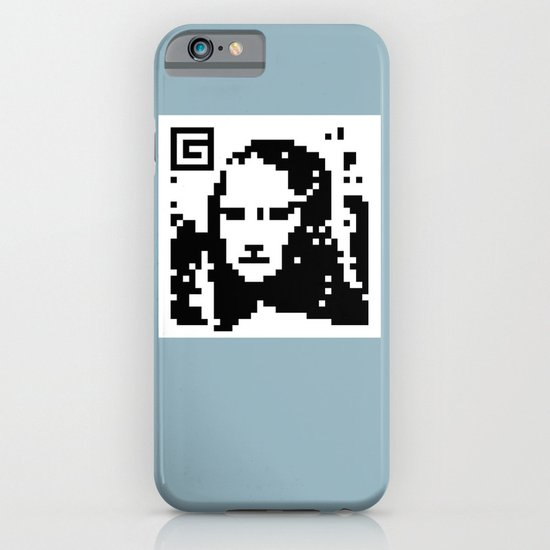 QR- Monalisa iPhone & iPod Case