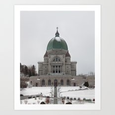 Montréal in November (10 of 11) Art Print