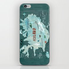 Iceland iPhone & iPod Skin