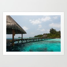 Welcome to paradise Art Print