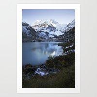 switzerland Art Prints featuring Switzerland by Laura Killian