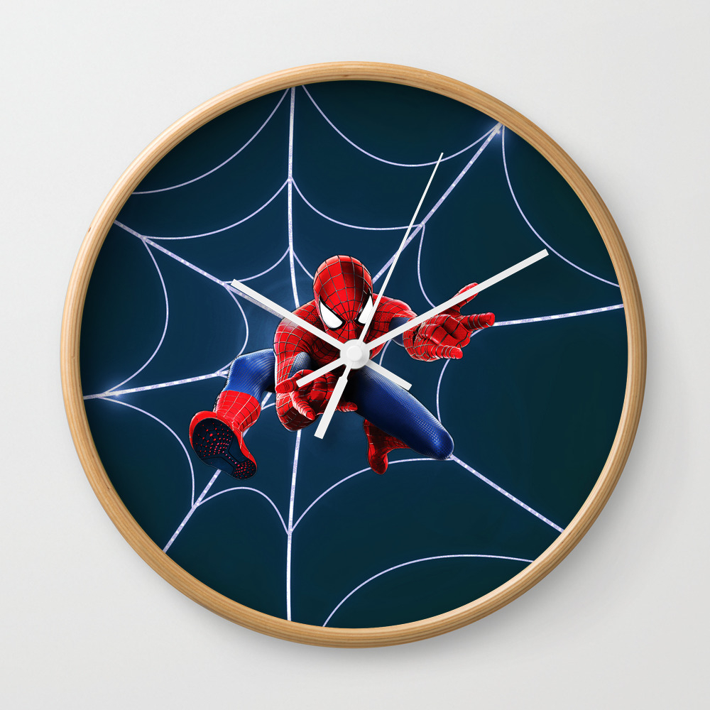 Spider Man Wall Clock by Albern CLK8809397
