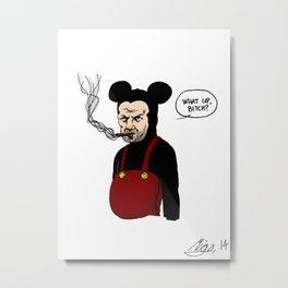 Jew Mickey Metal Print