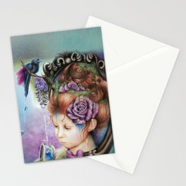 Tea&PeriWinkle Stationery Cards