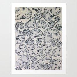 Scatter Brained  Art Print