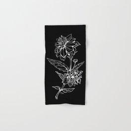 Black Dahlia Hand & Bath Towel