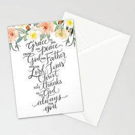 Grace & Peace Stationery Cards