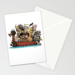 Bring The Wild Rumpus Back! Stationery Cards