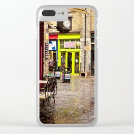 Camden Stables Market Clear iPhone Case