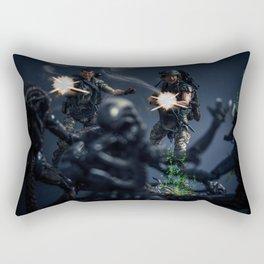 """""""SURROUNDED"""" Rectangular Pillow"""
