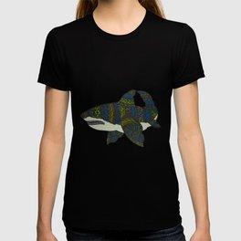 Dia De Los Shark: Great White T-shirt
