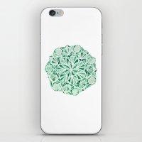 malachite iPhone & iPod Skins featuring Malachite by Strange Charm