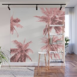 California Dreamin' in Pink Wall Mural