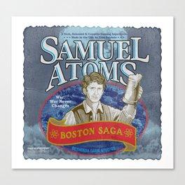 Samuel Atoms Canvas Print