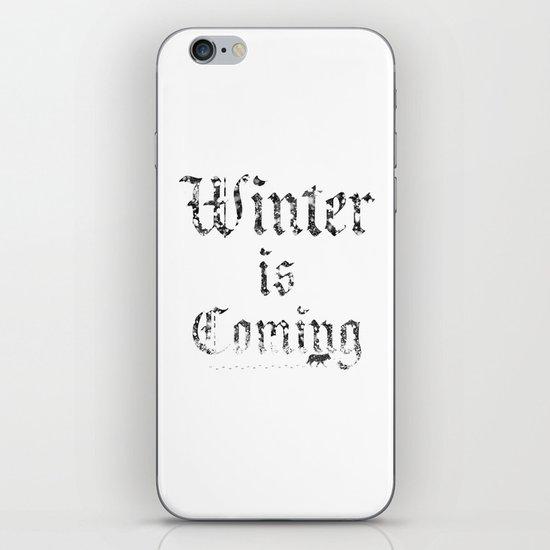 Winter Is Coming iPhone & iPod Skin